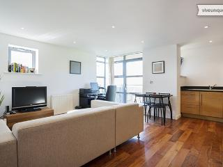 Two bed apartment with private Gym and Library, near Wimbledon, London