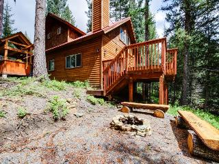 Quiet, peaceful cabin with firepit and forest views, McCall