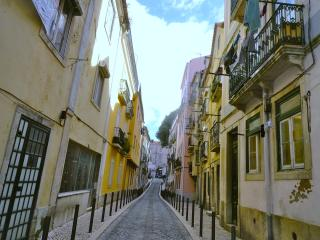 Charming, in the center, with terrace and a view!, Lisbon