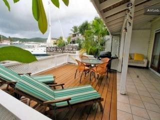lovely villa in south finger steps to jolly beach, Jolly Harbour