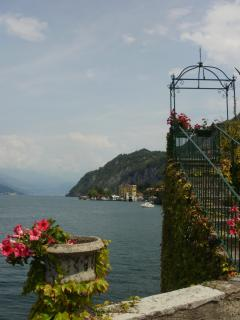 The only pergola view in Varenna.