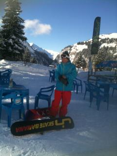 A chance to stop, relax and enjoy an Espresso or two, Lunch on the slopes, End of Day Drink, Enjoy.