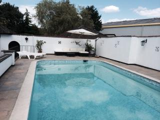 The Willows, 2 beds, pool, HOT TUB, Frome