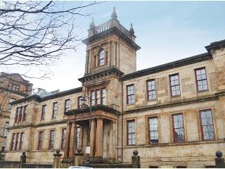 Glasgow City Flat in 19th Century Converted School