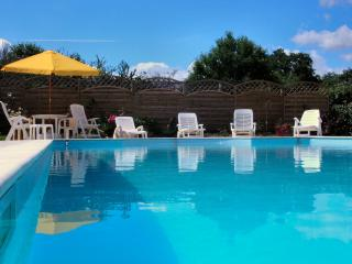 Enjoy the heated swimming pool May to September