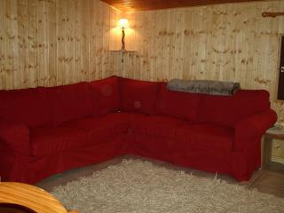 corner settee converts into double bed