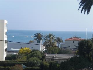 Sea view, pool, beach at 200m,  Cannes at 5 min, Golfe-Juan Vallauris