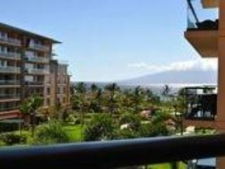 Relax and enjoy the view with breakfast on your private 4th floor lanai! - Ocean View Studio Suite, Kaanapali, Maui! - Kaanapali - rentals