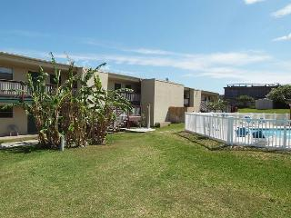 1 bedroom 1 bath remodeled condo with beach access and community pool!