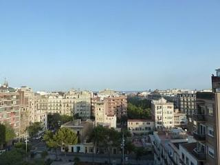 Sunny penthouse with sea & city views - Barcelona vacation rentals