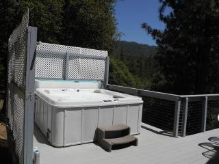 Knarly Oaks River House, private, spa, view, decks, Yosemite National Park