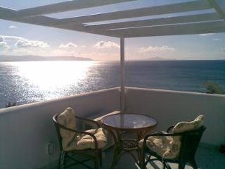 Villa with panoramic sea view, Piso Livadi