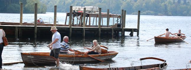 Spend an afternoon on Derwentwater in nearby Keswick
