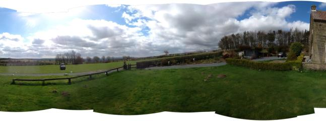 Panaromic view from house