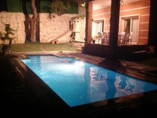 Chill out in the evening with a swim in your own private pool.