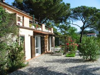 Holiday apartment in villa with splendid sea view, Capoliveri