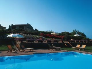 2 bedroom Farmhouse apartment in Chianti hills with access to jacuzzi and swimming pool, private garden and barbecue, San Gimignano