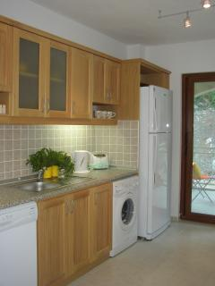 Self-Contained Kitchen - leading to the Balcony