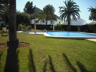 villa near Denia surrounded by tropical gardens