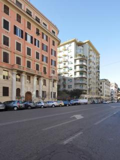 street view of the apartment's location