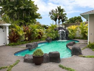 Luxury private home with the convenience of Kailua Beach just steps away.