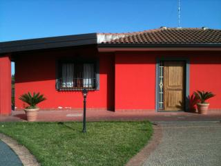 Villa with private pool of cherry trees and large, Catania