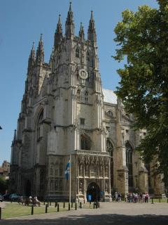 Canterbury Cathedral, just 8 minutes away