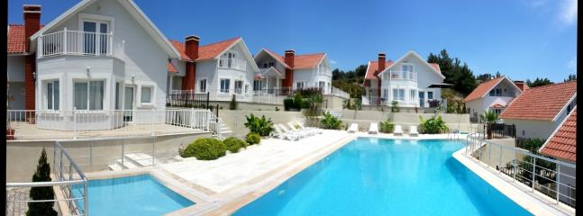 Panoramic view from the pool