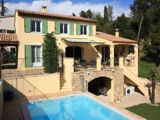 3371 Quality Cote d'Azur villa with heated pool, Vence