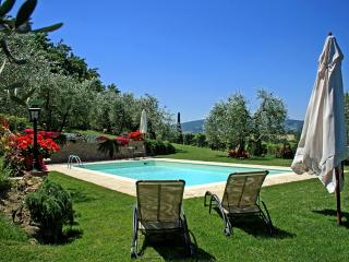 Charming stone-built 2 bedroom Tuscan villa with private outdoor pool and gardens, kids and pets welcome!, San Gimignano