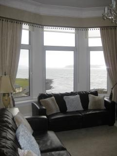 Sitting room with wonderful views