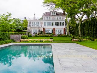 RANSW - Spectacular all new Harborfront Retreat, Heated Pool, Spacious Patio and Deck Areas, Stunning Views of Edgartown Harbor