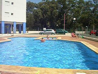we are one of the few apartment complexes where the pool has the sun all day!