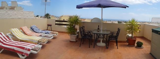 Our 55 square metre roof terrace with 360 degree views