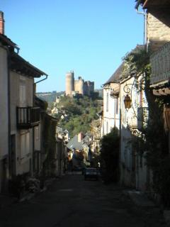 The medieval Najac, one of the 'Plus Beaux Villages de France' & 'Grande Site Midi-pyranees