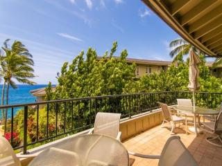 Free car* with WC230-exquisite ocean front 2bd/2.5bth with stunning ocean views-heated pool, hot tub, Koloa
