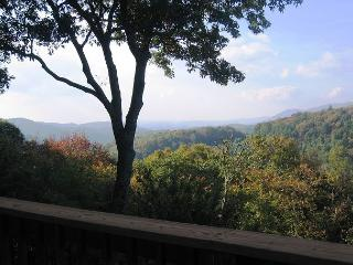 Almost Aspen spacious mountain retreat with fantastic view, sleeps 10, Blowing Rock