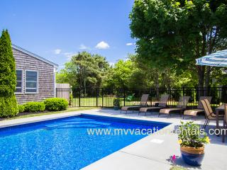 FERR2 - Katama Main and Guest Compound, Heated Pool, Large Private Yard, Bike to South Beach, A/C, Edgartown