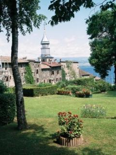 Yvoire on the shores of Lake Geneva