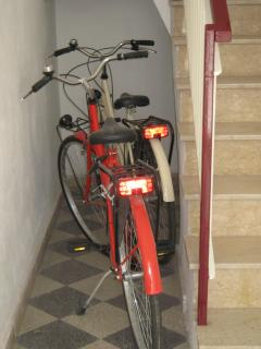 bicycles at our guest disposal