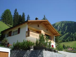 Chalet Im Wieselti - Upper Apartment in Chalet, Langwies