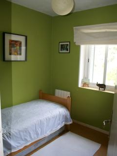 Bedroom 3: single bed with spare mattress underneath