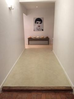 hall to the bedrooms