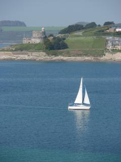 Visit St Mawes castle, built by Henry VIII. Great fun for children and grown ups.