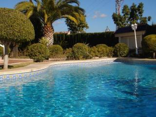 Private pool and wonderful gardens to enjoy in this private detached villa