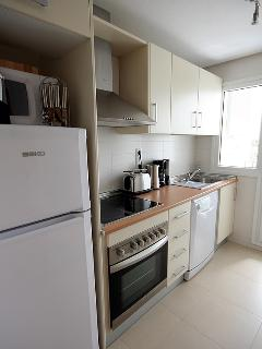 fully fitted Kitchen and laundry room