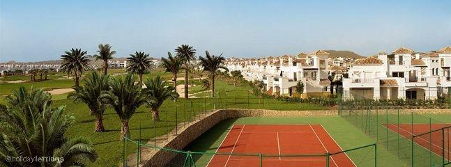 La Torre Golf resort tennis courts