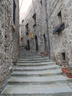 One of the streets in Anghiari