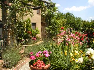 Adorable Tuscan cottage with beautiful garden just outside Lucca, sleeps 2, Sant'Andrea di Compito