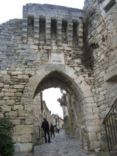 Historical sights all over. Lacoste village in the Luberon area is in the reach of 20 min's